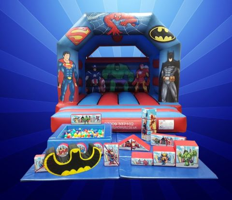 Superheroes 8 Years And Under Package