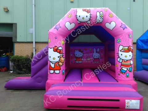 17ft X 15ft Hello Kitty With Slide