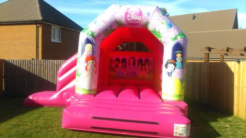 17ft X 15ft Princess With Slide