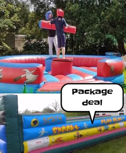 Bungee And Gladiator Package