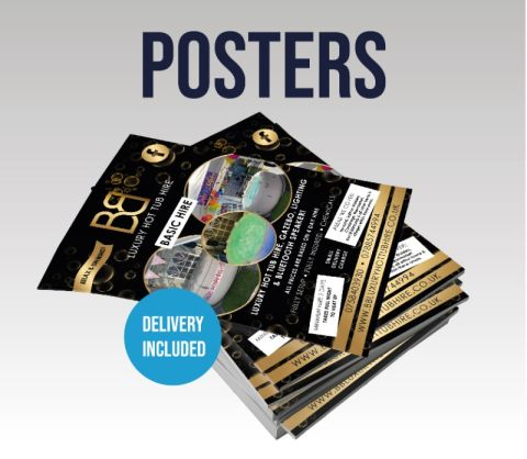 A2 Single Sided Posters 200gsm