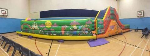 Assault Course And Slide