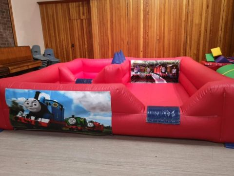 Red Soft Play Surround