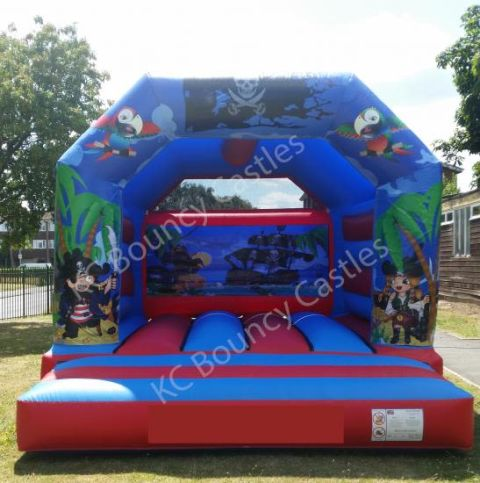 New Pirates 12.5ft X 15.5ft Bouncy Castle