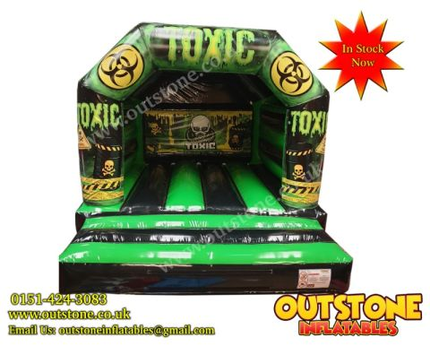 Toxic Bouncy Castle In Stock