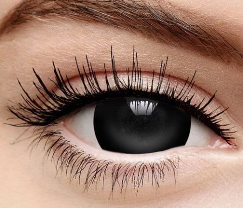 Fashion Contact Lenses 1 Day Wear - Black
