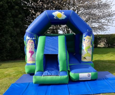 Mermaids Slide And Bounce Combo
