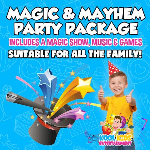 Magic And Mayhem Party Package