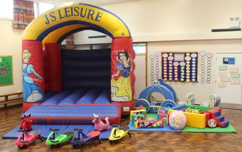 Princess Bouncy Castle & Soft Play Package