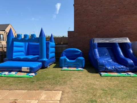 Bouncy Castles Ball Pool And Slide