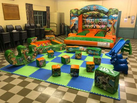 Jungle Soft Play Package
