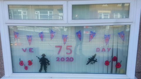 Hand Painted Window Displays