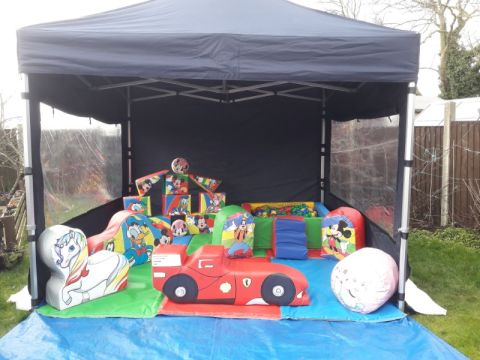 Soft Play Hire Package Outside