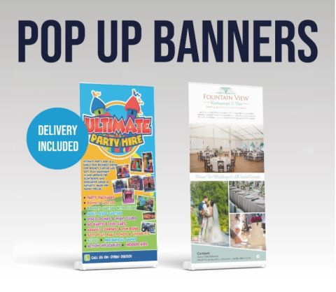 Pop Up Banner - And Artwork - Design