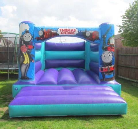Aqua Thomas H Style Bouncy Castle