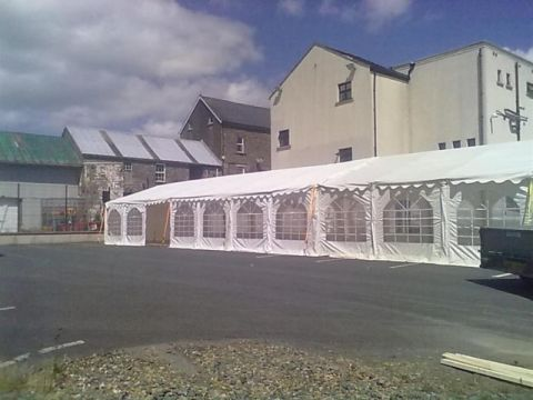 6x14m Marquee Up To 6x28m Marquee