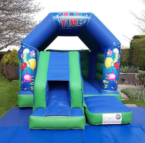 Party Time Slide And Bounce Combo
