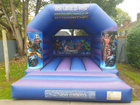 Marvel Avengers Bouncy Castle - H Frame