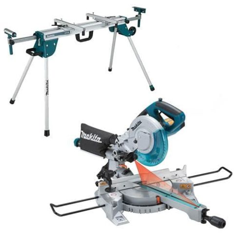 240v Sliding Mitre Saw And Table