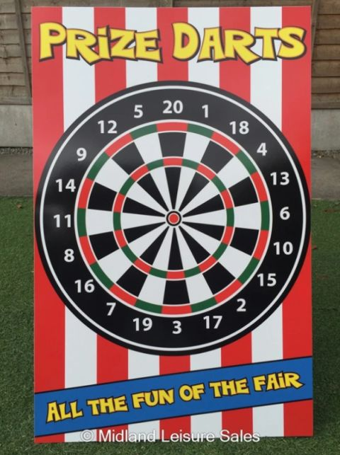 Prize Darts Printed Games Pack (pdp01)