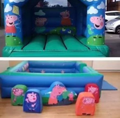 12 X 14 Any Themed Bouncy Castle And Soft Play Package