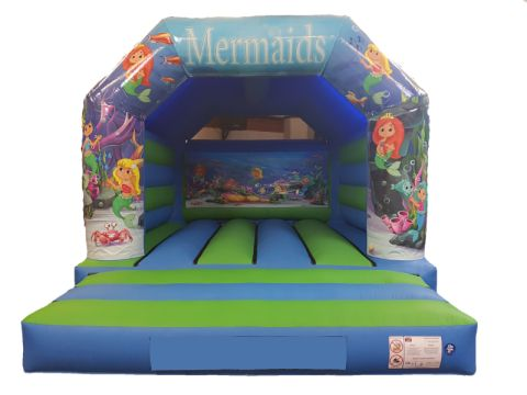Mermaids Bouncy Castle