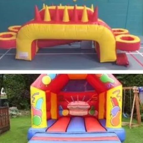 12 X 14 Bouncy Castle And Air Juggler