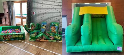 Jungle Soft Play With Slide