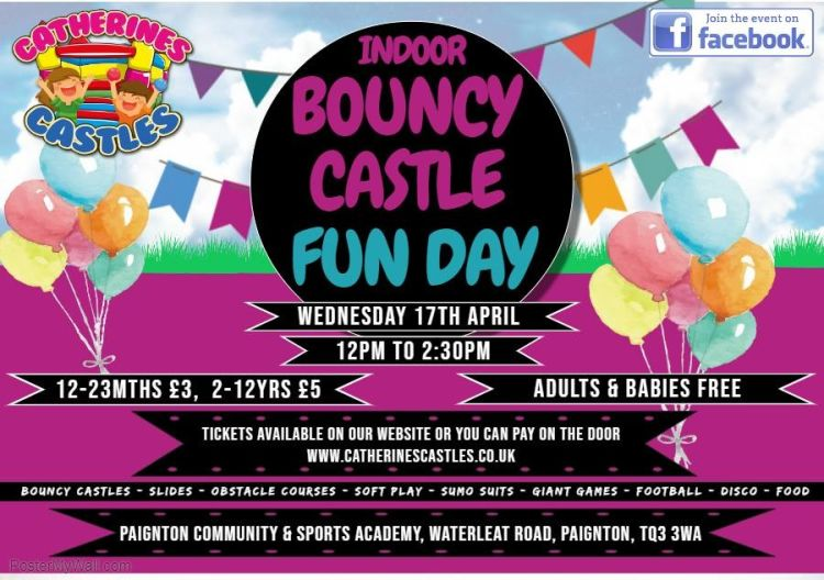 Easter Bouncy Castle Fun Day
