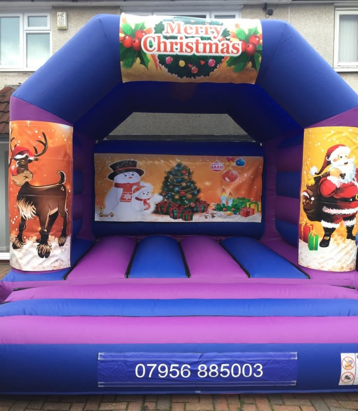 Christmas Bouncy Castle 12 X 14