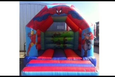Superhero Bouncy Castle 12 X 14
