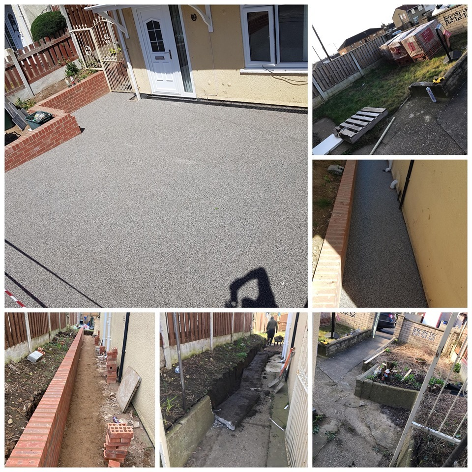 New Resin Bound Driveway In Doncaster South Yorkshire