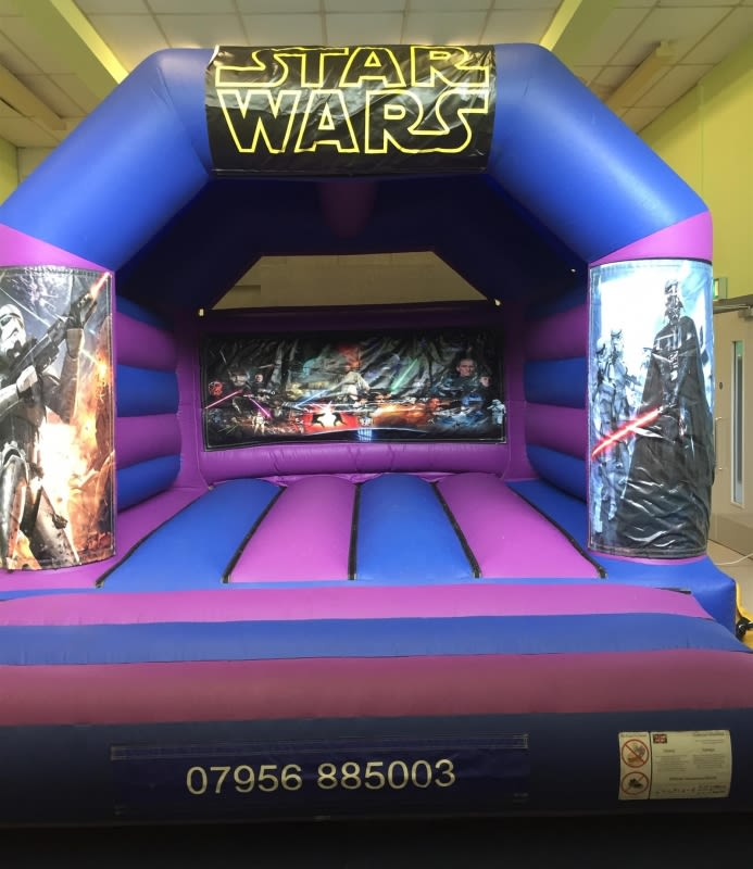 Star Wars Bouncy Castle 12 X 14