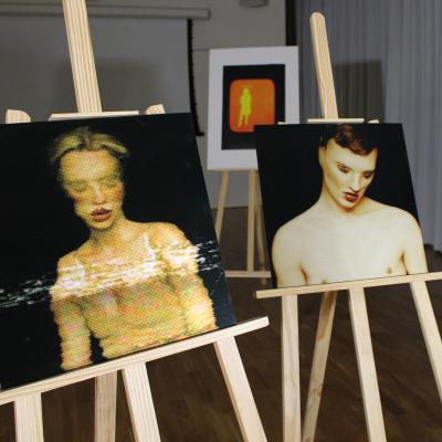 Exhibition at Bush House studio room