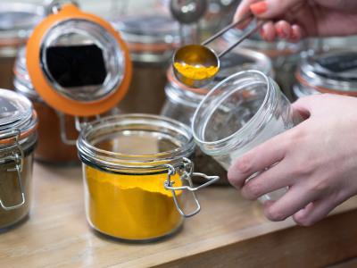 curry powder jar