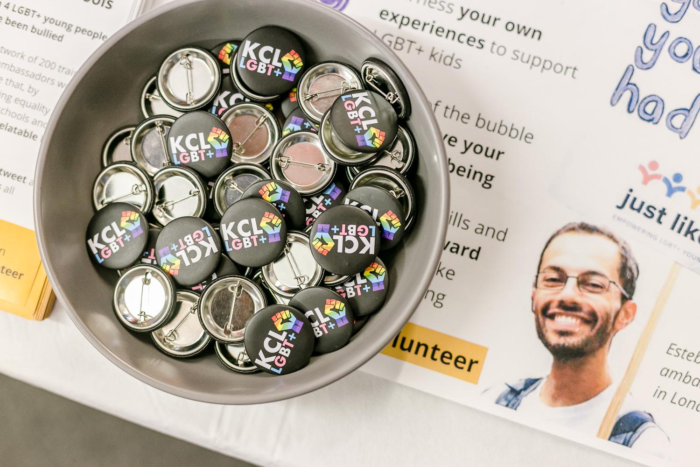 KCLSU LGBT PINS