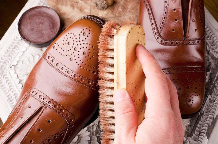 Schuhzubehör für Lederschuhe