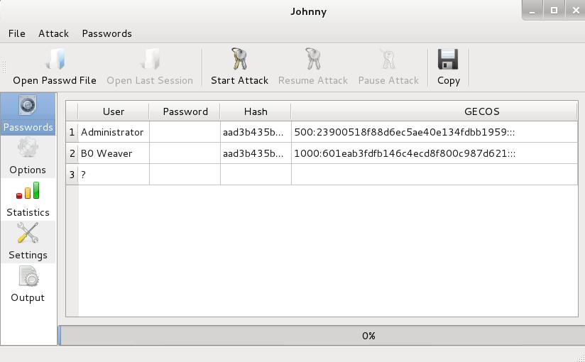 Tutorial: Password Attacks