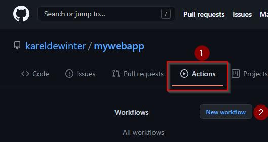 Create GitHub Action