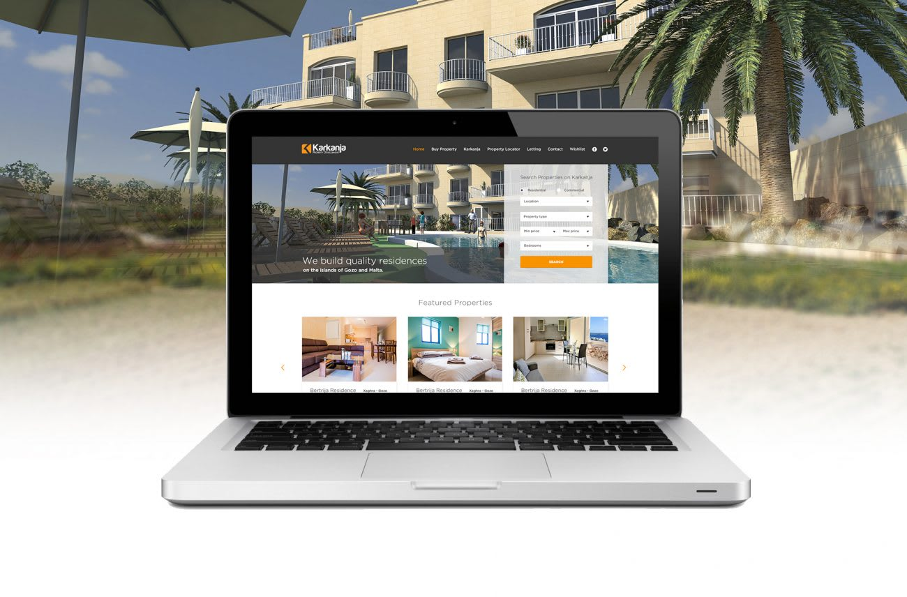 Karkanja Property Development Website by Keen