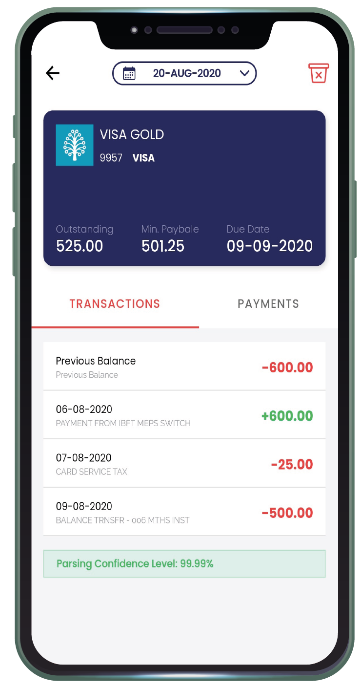 See Card Transaction