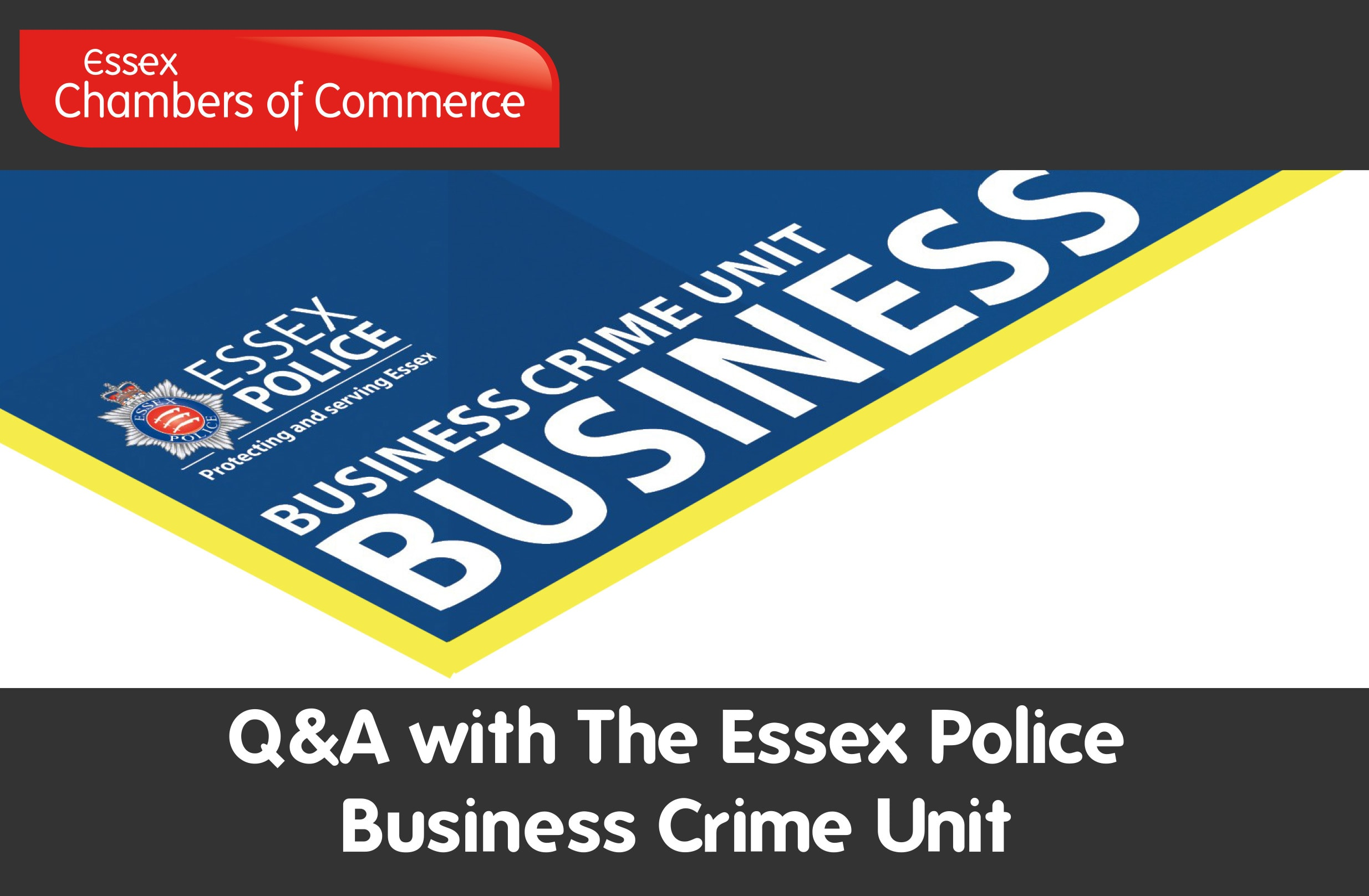 Essex Chambers of Commerce - Q&A with The Essex Police Business Crime Unit