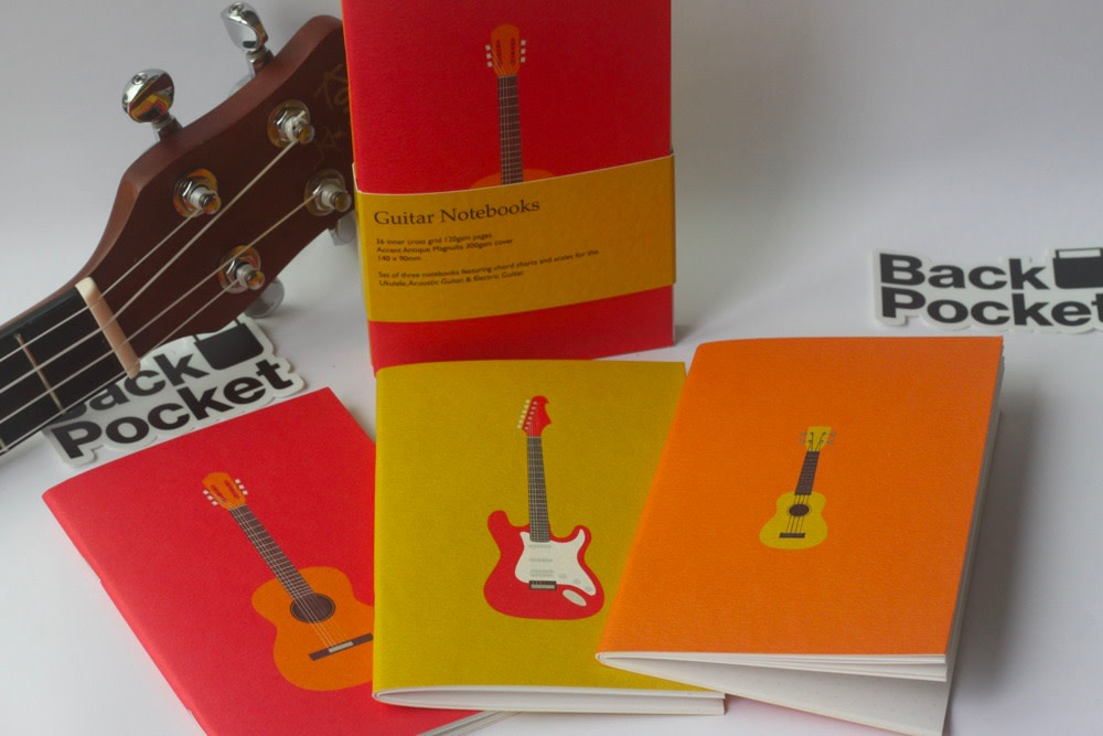 The Back Pocket Guitar Notebooks