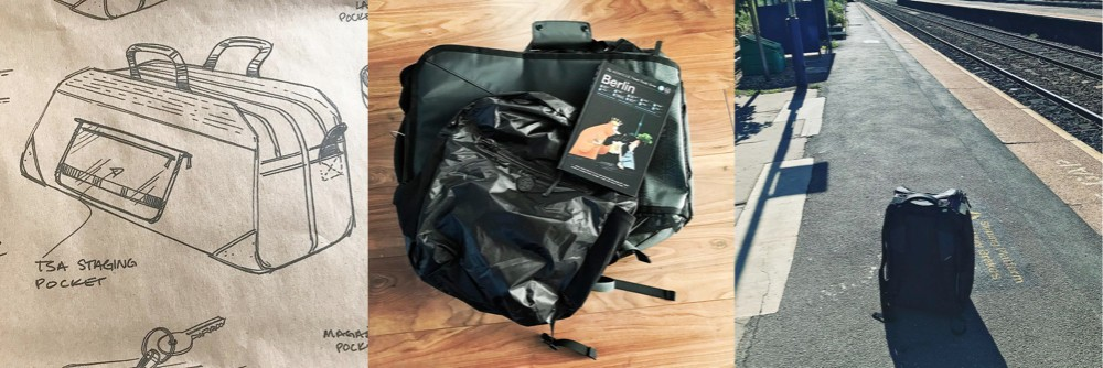 The Pakt One, Nomatic Travel Bag, & Tortuga Setout Daypack