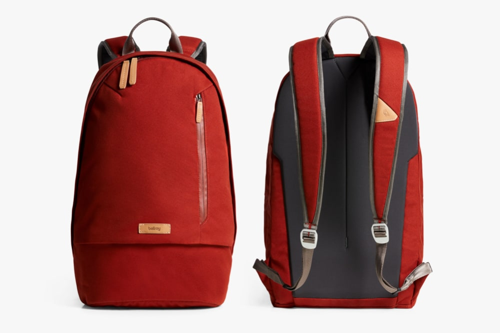 The Red Ochre version of the Bellroy Campus Backpack