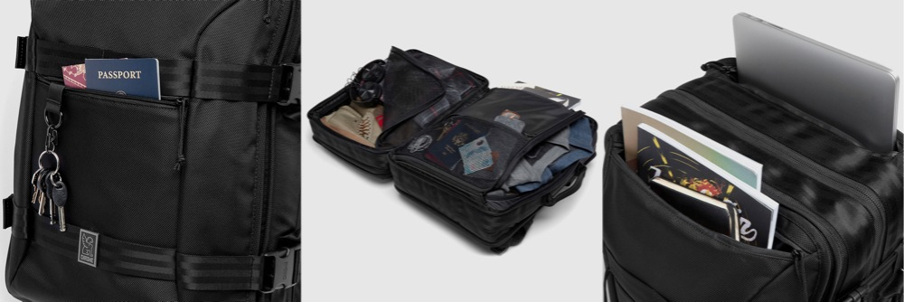 External & Internal Pockets