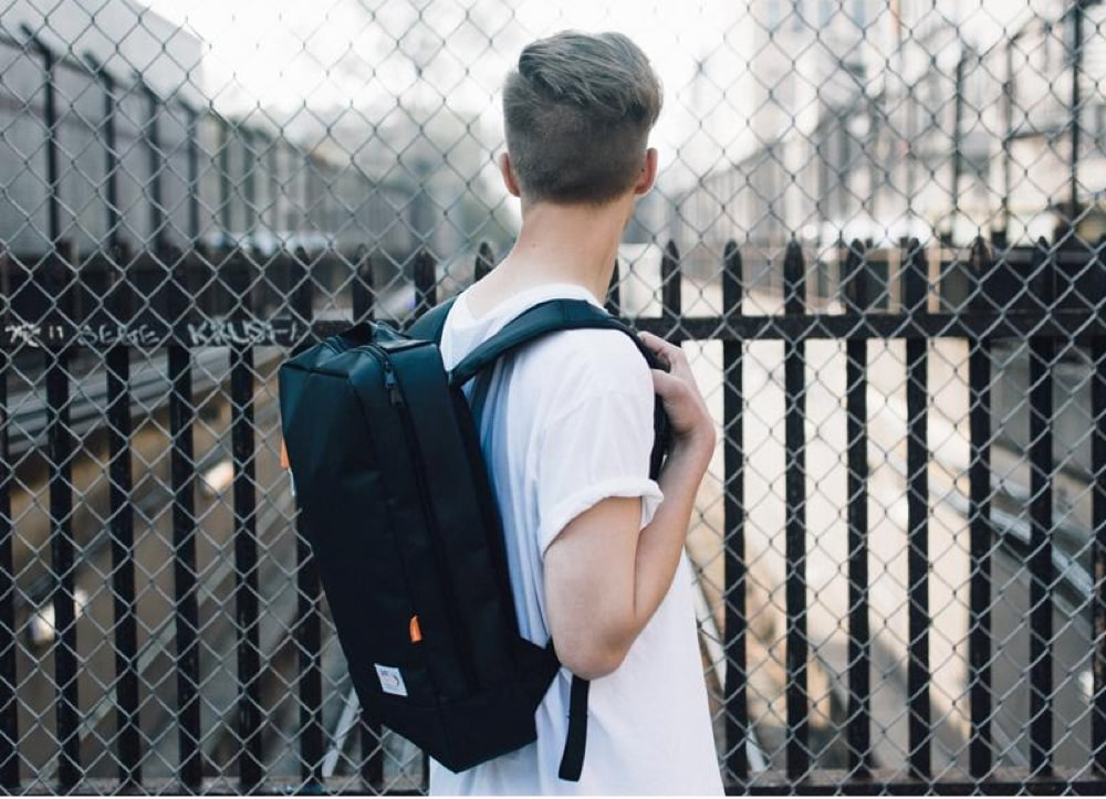 The Logan Square Backpack by Just Porter