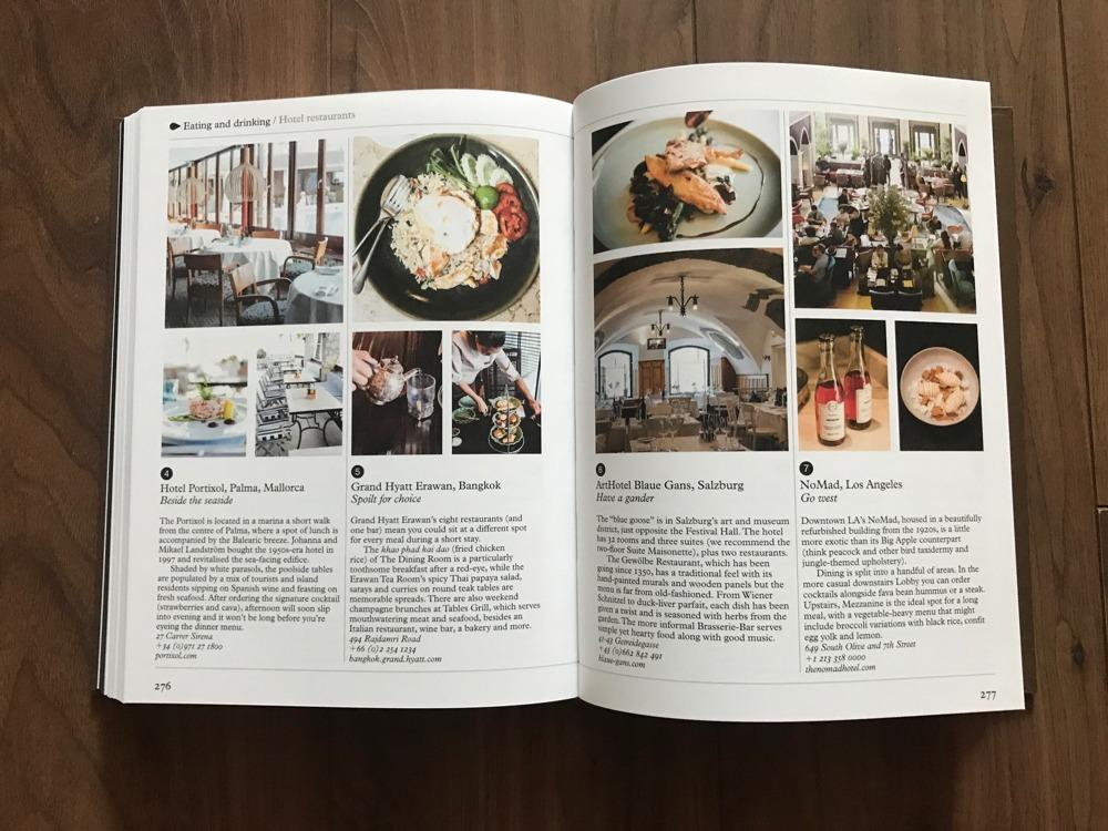 50 Recommended Restaurants & bars