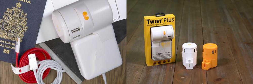 The One Adaptr Twist+ World Charging Station