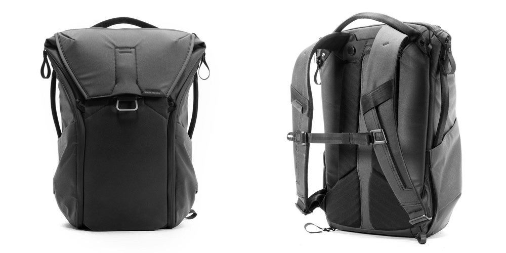 The Peak Design Everyday Backpack Front and Back